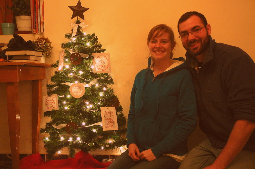 Our first Christmas in Albania…
